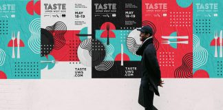 Taste of the Upper West Side - brand identity by Shanti Sparrow.