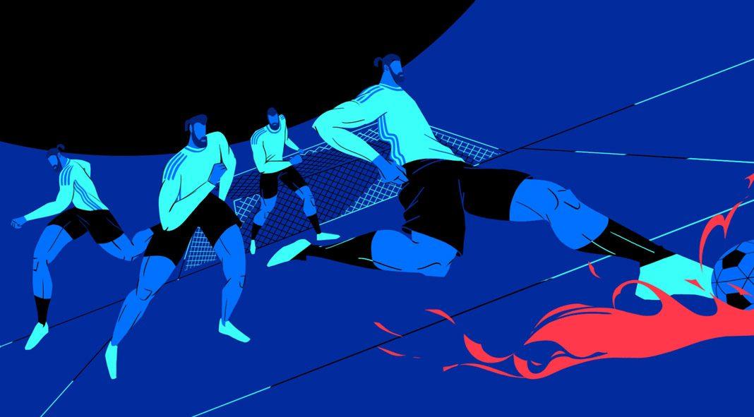 World Cup 2018 animation by Gentleman Scholar.