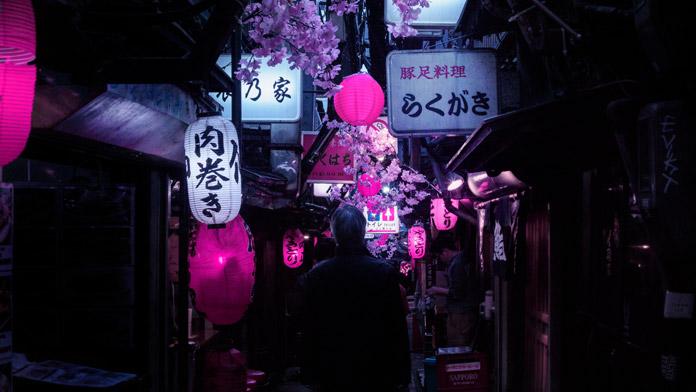 Omoide Yokocho Memory Lane.