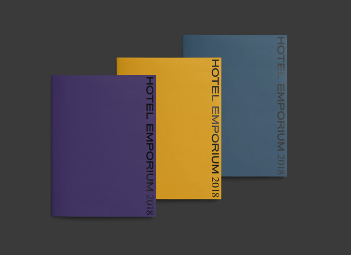 Hotel Emporium branding by Forth + Back.