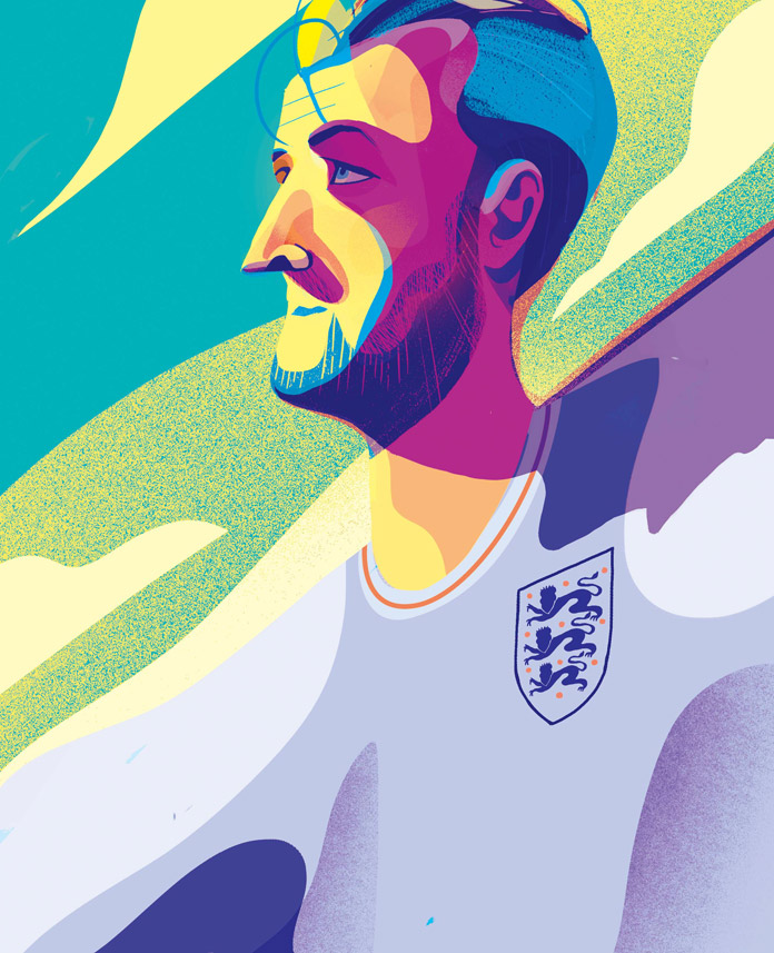 Sports illustrations by Charlie Davis.