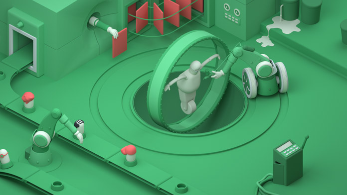 The Story of Our Workflow - animation by Kasra Design Studio