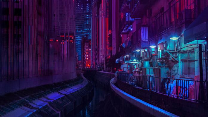 Tokyo glitch.