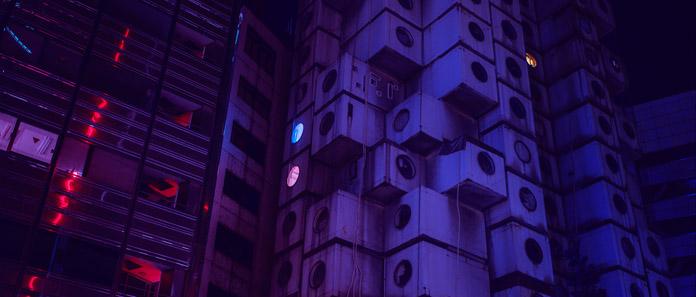 Nakagin Capsule Tower.