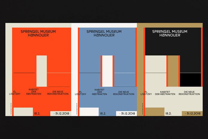 Sprengel Museum - visual identity by Bureau Bordeaux and David Turner