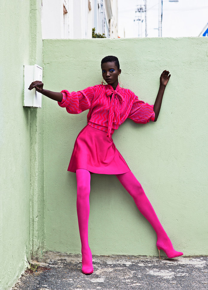 Bo Kaap - fashion photography by Elena Iv-skaya for Lucy's Magazine