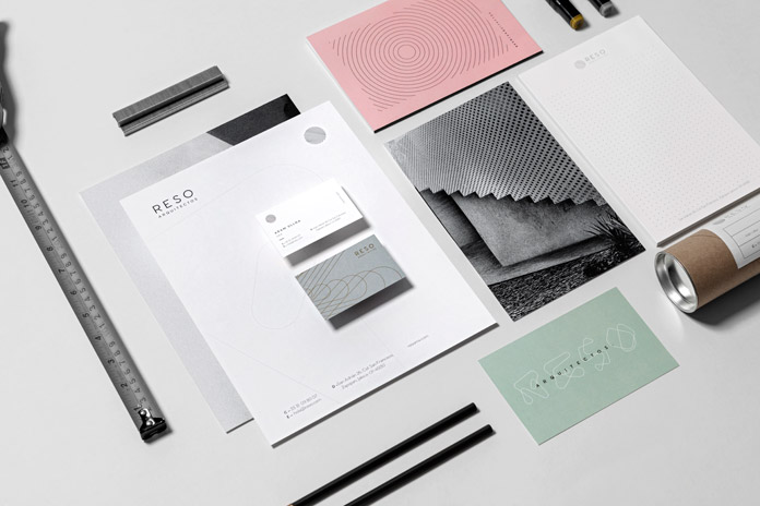 Reso corporate identity by The Branding People.
