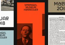 Sprengel Museum - visual identity by Bureau Bordeaux and David Turner
