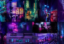 Tokyo Nights - photography by Liam Wong.