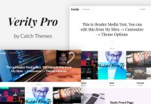 Verity WordPress Theme