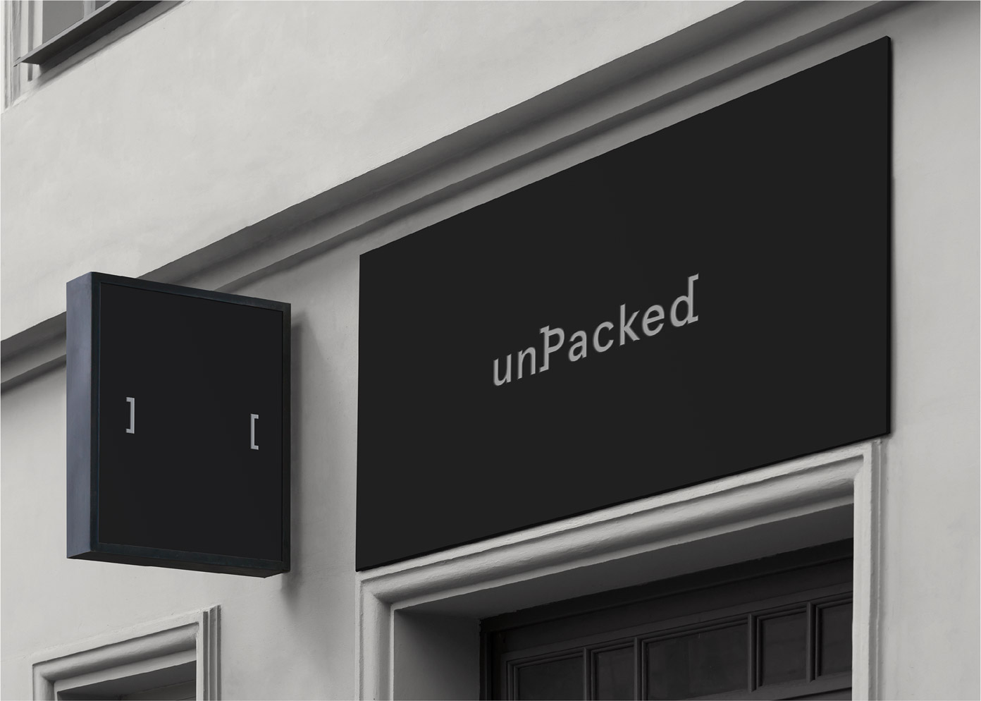 Branding, graphic design, and packaging by fagerström for unPacked.