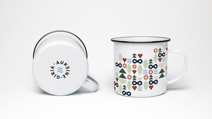 Auksinė giria branding by Imagine studio.
