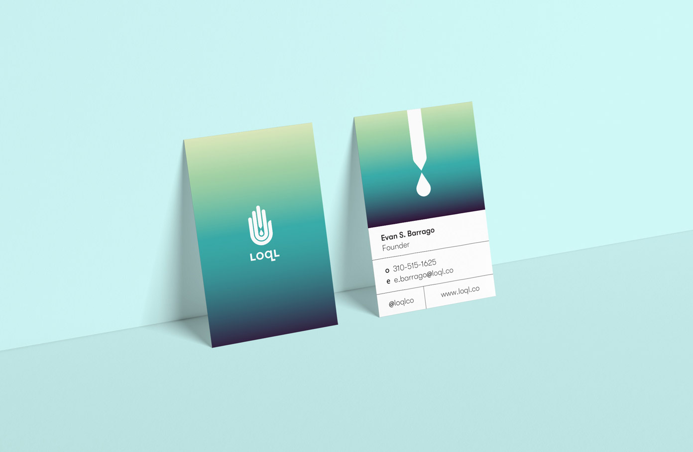 LOQL Business cards