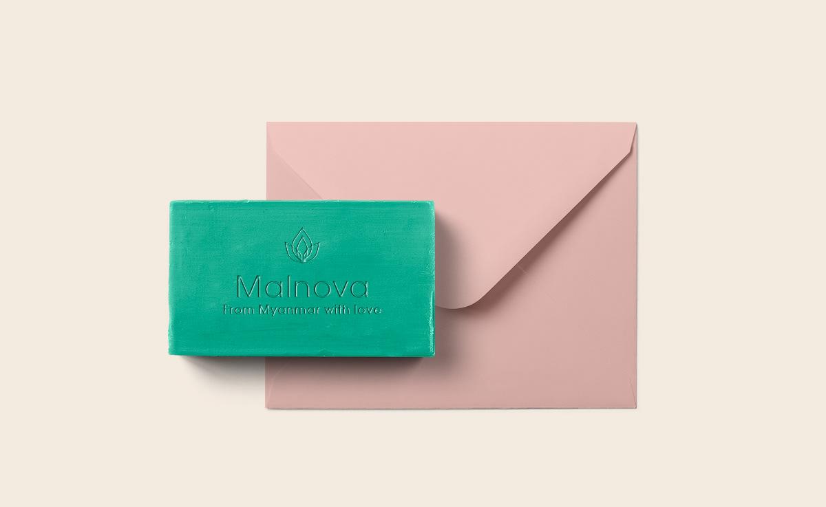Malnova brand and packaging design by Anastasia Dunaeva.