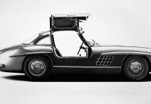Classic car drawings by Alessandro Paglia