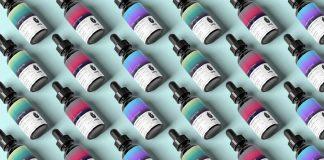 LOQL Cannabis tincture bottles