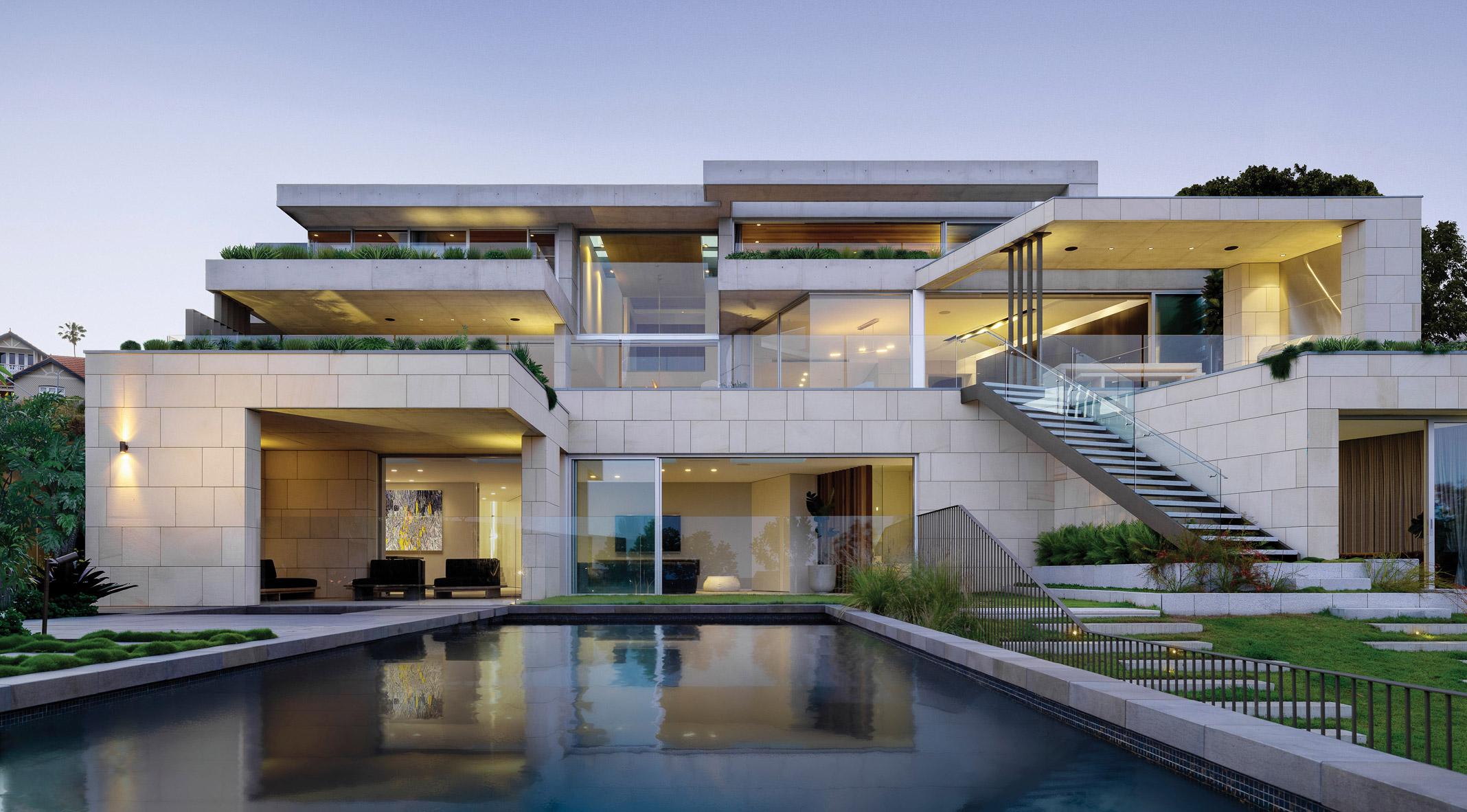 Mosman House in Sydney, Australia by SAOTA