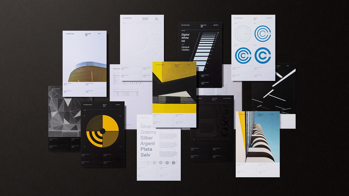 Gmund Bauhaus Swatchbook by Tolleson Design
