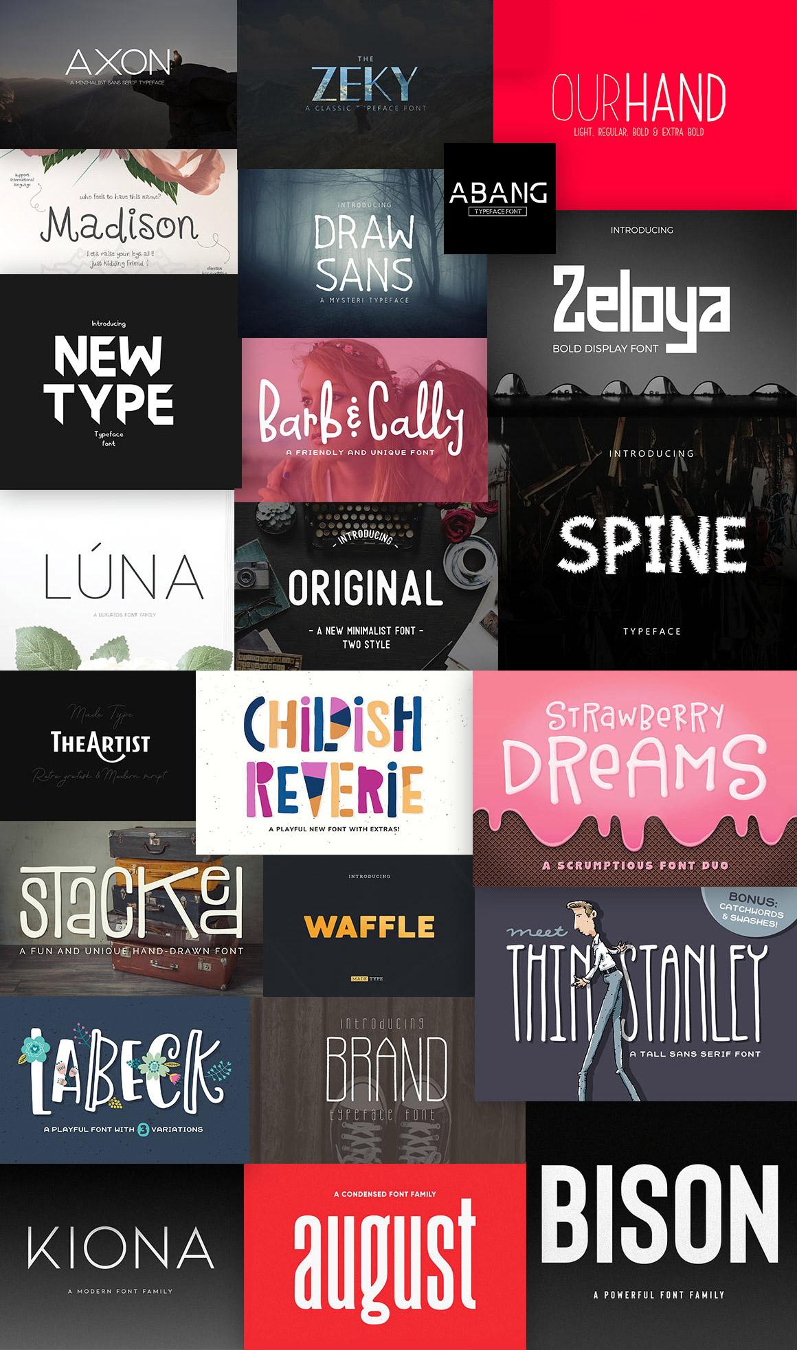 Download 67 font families with 162 unique fonts.