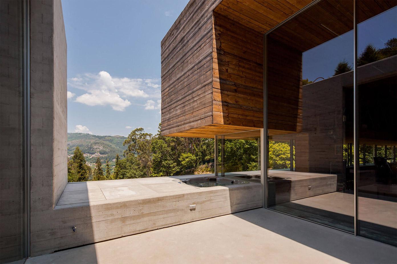 Gerês House by architecture studio Carvalho Araújo