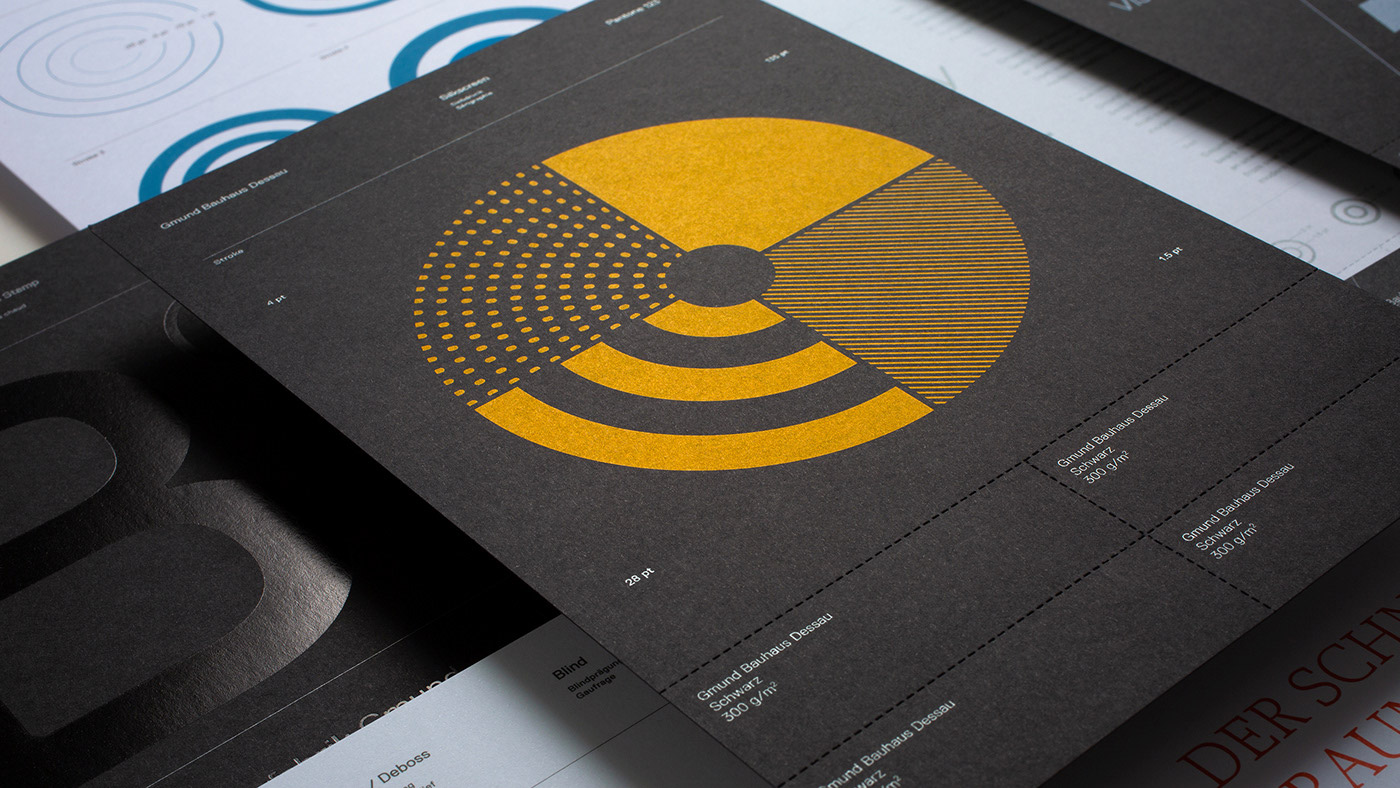 100 Years of Bauhaus – Gmund Swatchbook by Tolleson Design