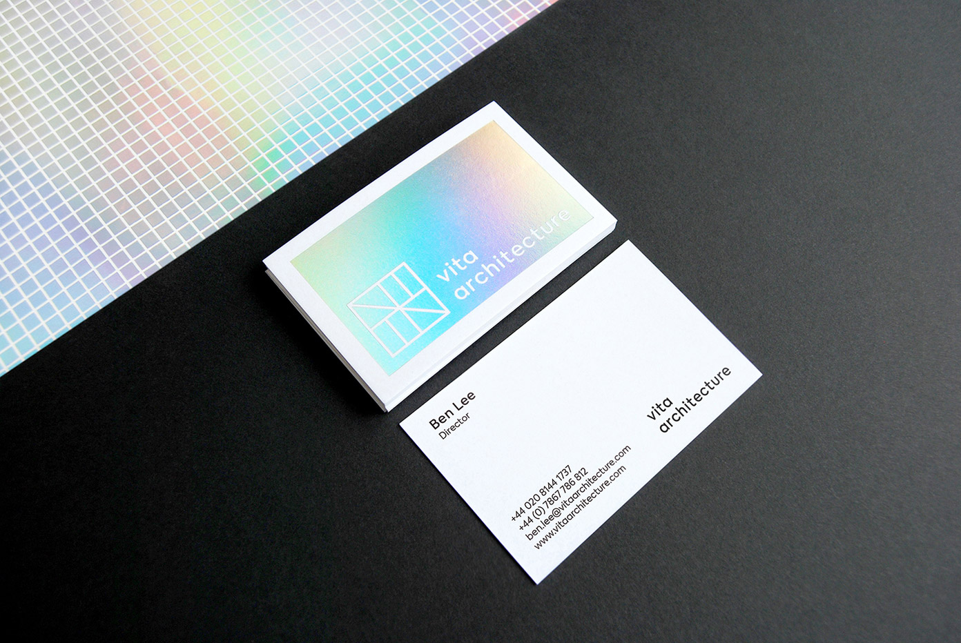 Vita Architecture brand design by Studio P+P