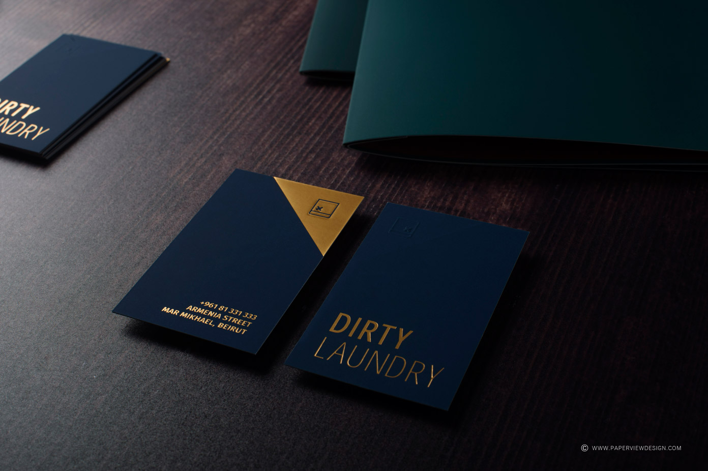 Dirty Laundry branding by PaperView.
