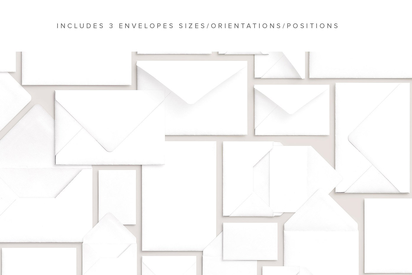 Cards and envelopes mockups scene creator by Román Jusdado