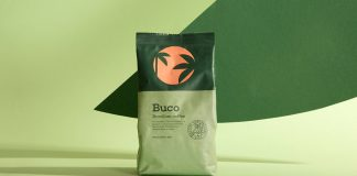 Buco Coffee Manufacture branding by Molto Bureau.