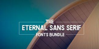 Eternal Sans Serif Fonts Bundle
