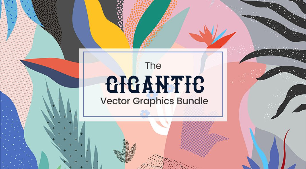 Gigantic bundle of freely scalable vector graphics