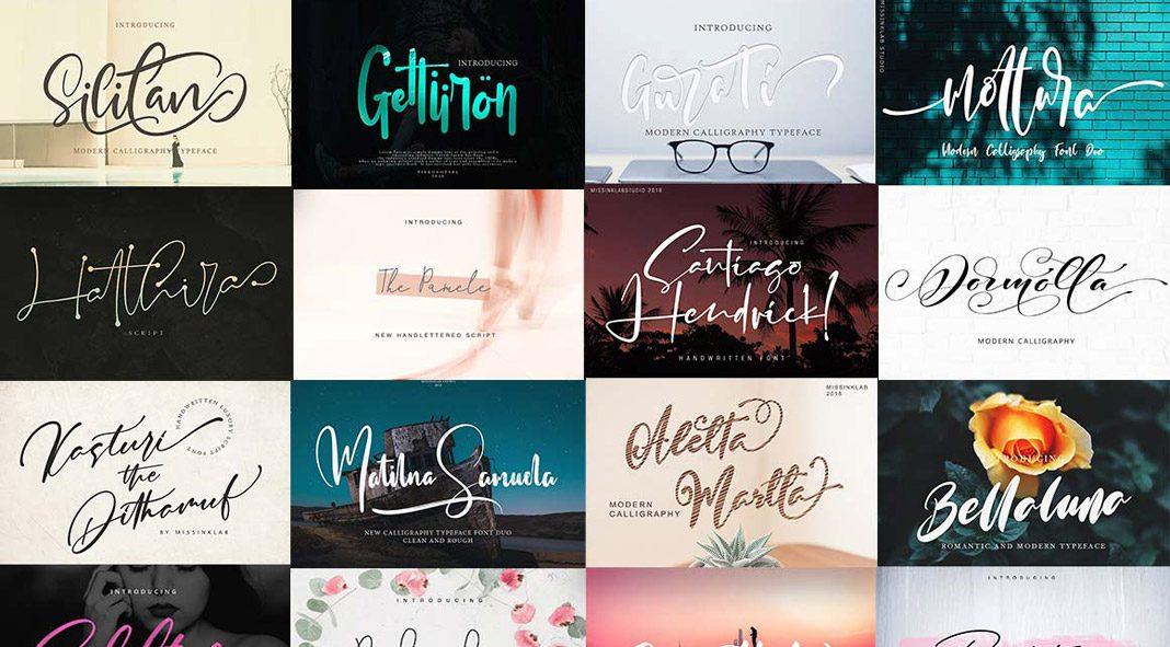 Modern Fonts Bundle from Pixelo
