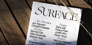 SURFACE Magazine - student project