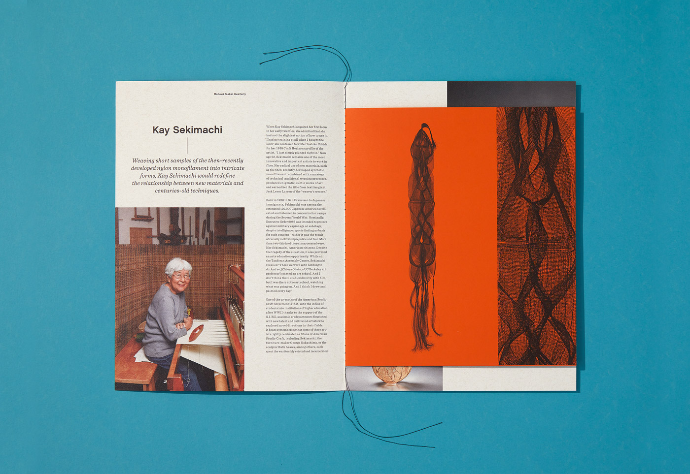 Mohawk Maker Quarterly 15: Materials