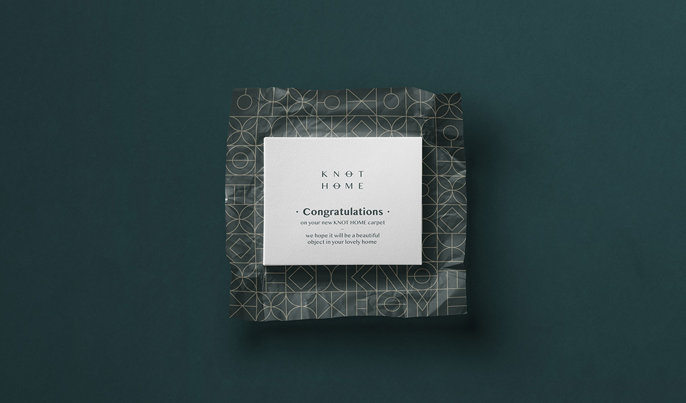 KNOT HOME branding by Tank Design