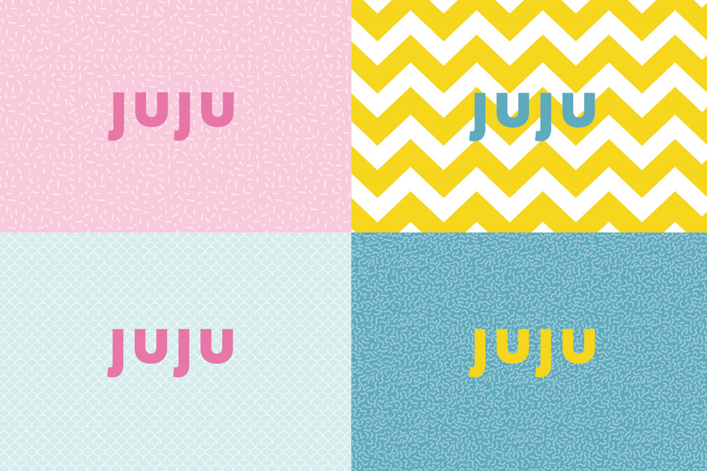 Food and beverage branding by Fable for JUJU.