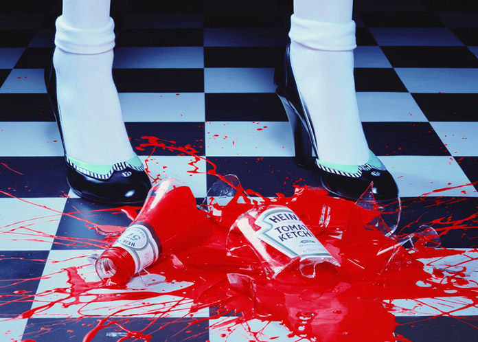 A Drop of Red #2, 2001, Miles Aldridge
