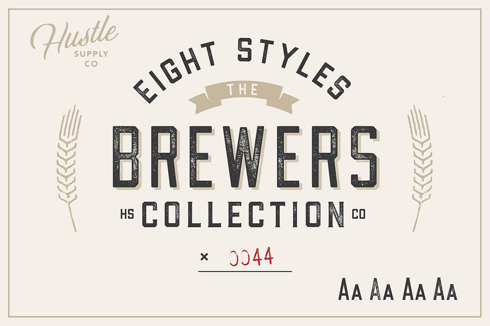 Brewers typeface