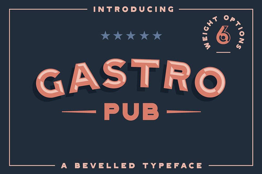 Gastro typeface