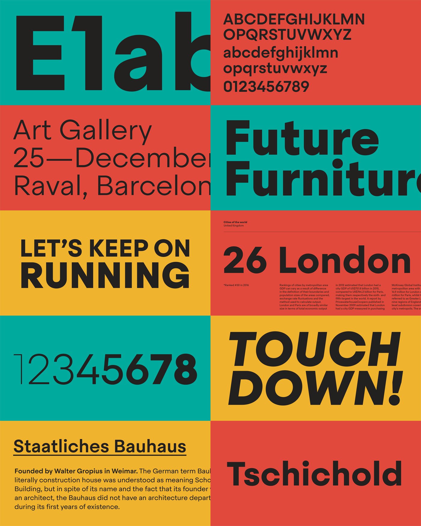Steradian font family from Emtype Foundry