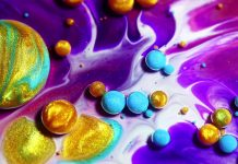 The Empire of C – Experimental Video by Thomas Blanchard Using Colorful Liquids.
