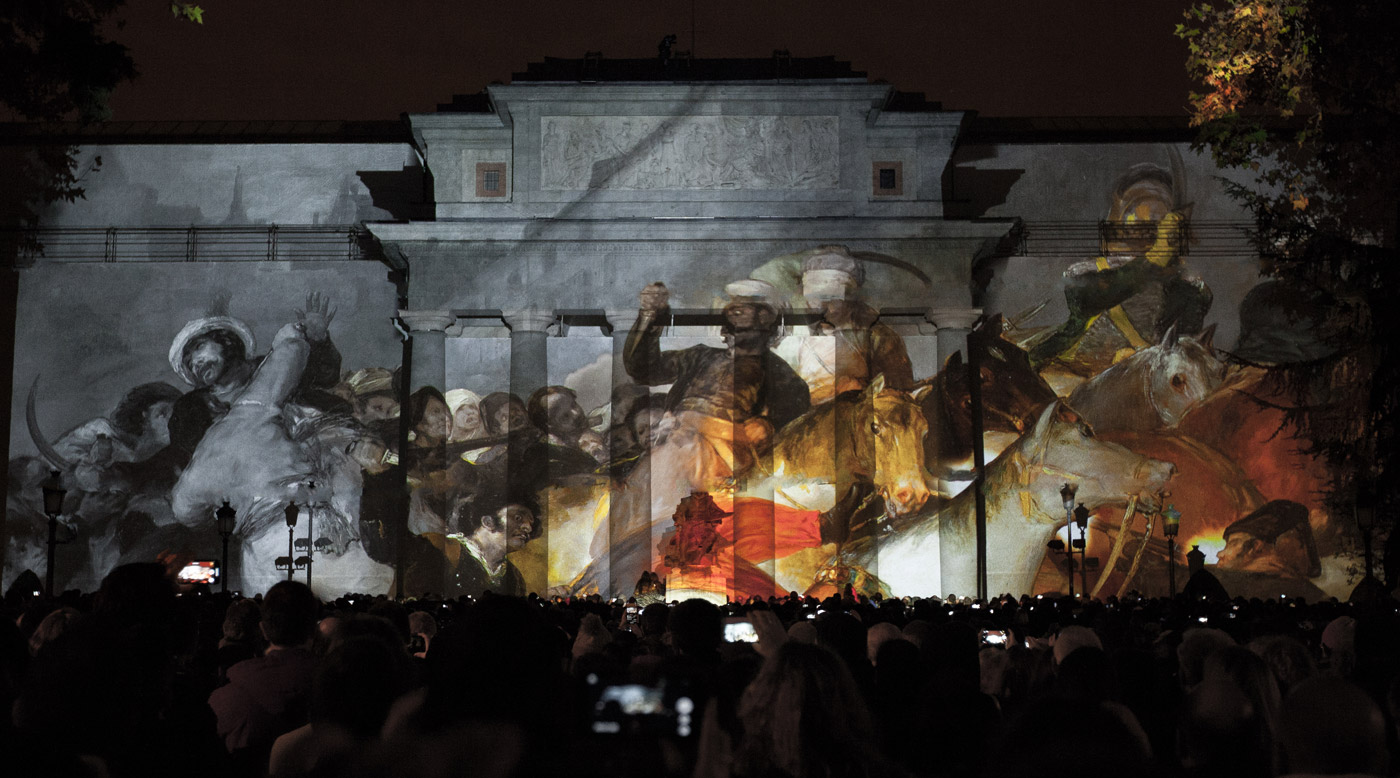 Mamelucos - Prado Museum's Bicentenary - 3D Projection Mapping by Onionlab