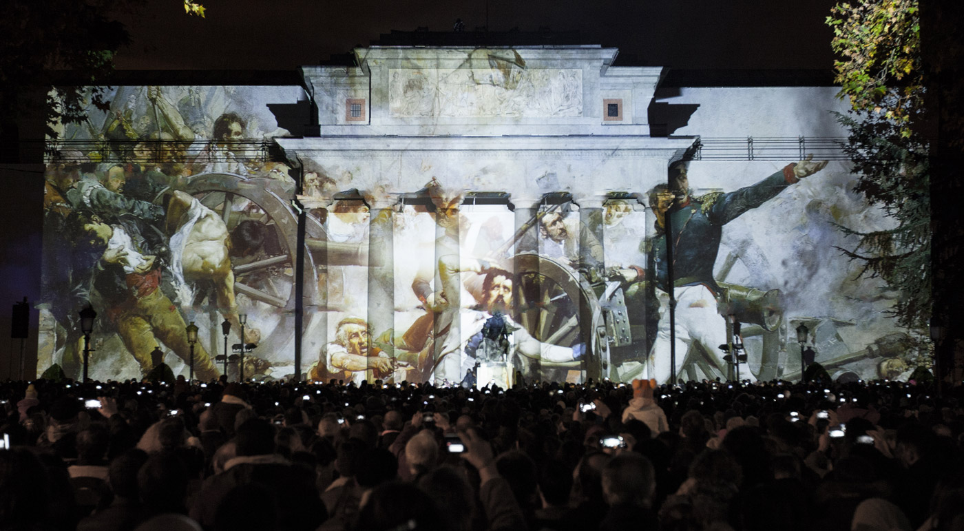 Sorolla - Prado Museum's Bicentenary - 3D Projection Mapping by Onionlab
