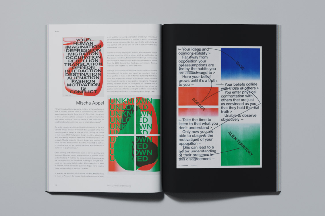 Celebrating 100 years of the Bauhaus: Printed Pages AW18
