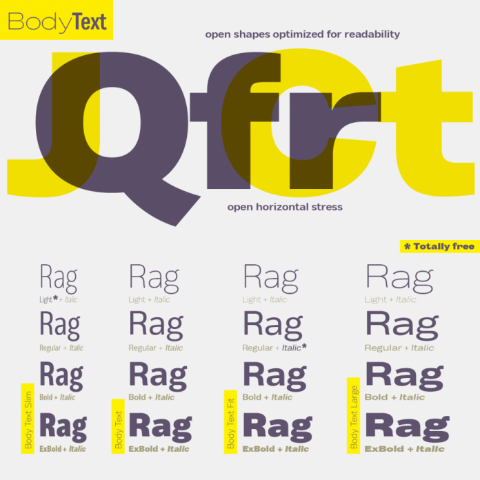 Body font family from Zetafonts