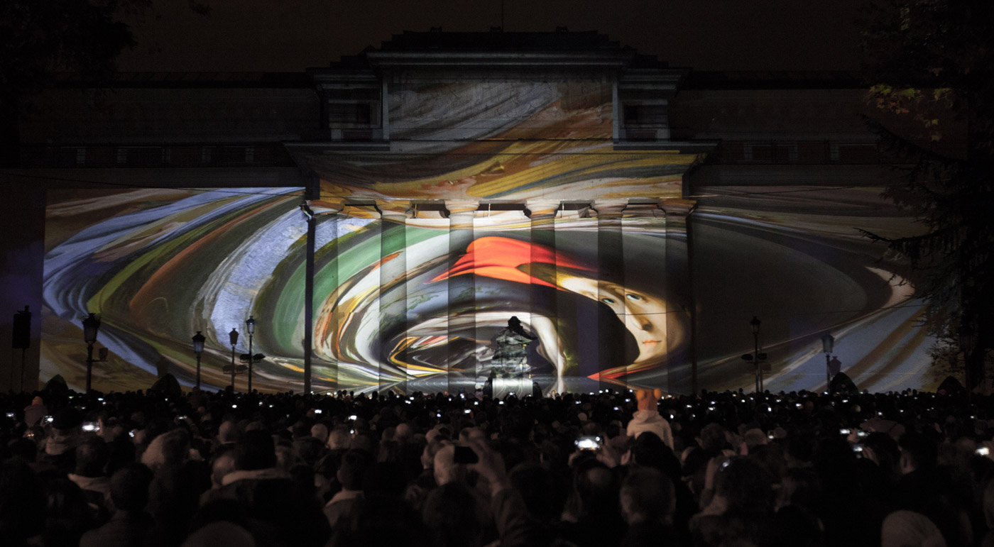 Tunnel - Prado Museum's Bicentenary - 3D Projection Mapping by Onionlab