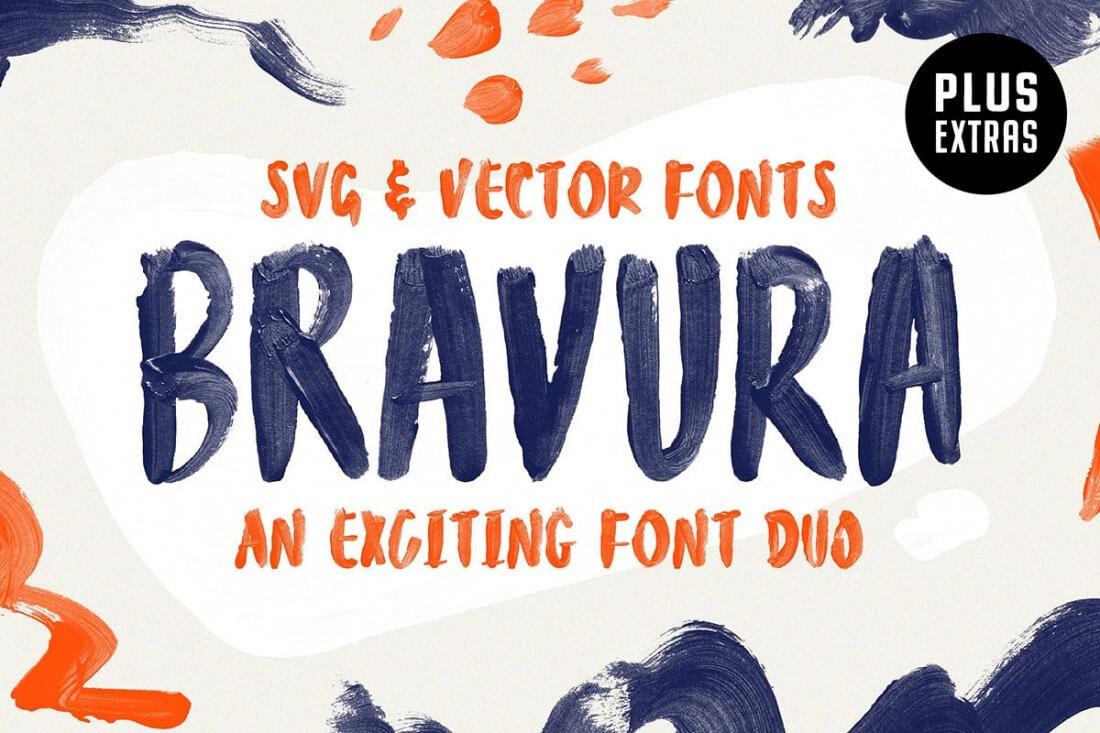 Bravura SVG font
