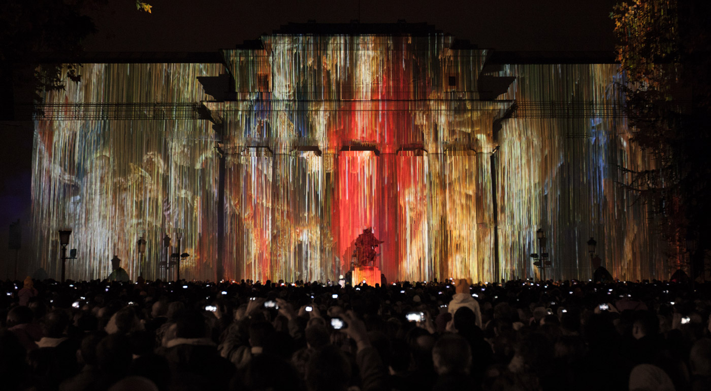 Reyes Magos - Prado Museum's Bicentenary - 3D Projection Mapping by Onionlab