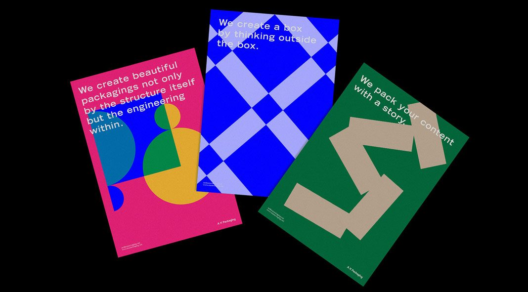 A X P corporate identity by URFD