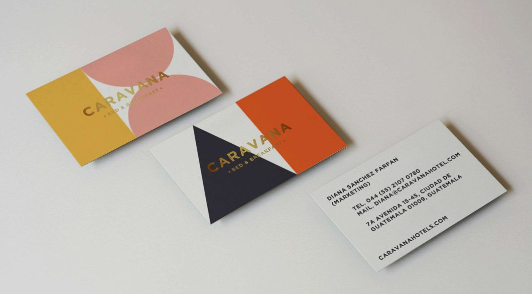 CARAVANA Bed & Breakfast branding by Panel Studio